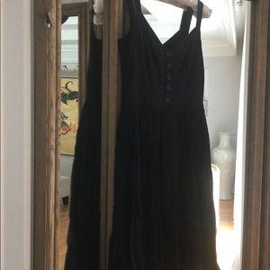 Burberry Black Chiffon Skirt Ballet Dress